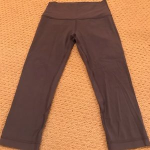 Lululemon align 21 inch crop leggings